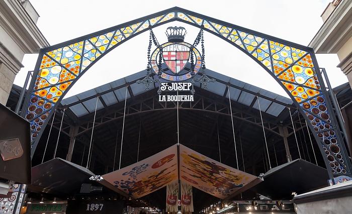 Ciutat Vella: El Raval - La Boqueria (Mercat de Sant Josep de la Boqueria) Barcelona