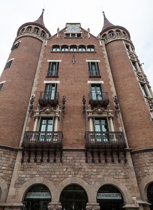 Eixample: Avinguda Diagonal / Carrer del Bruc - Casa de les Punxes Barcelona