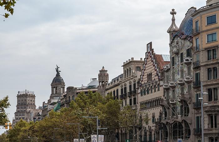 Eixample: Passeig de Gràcia Barcelona