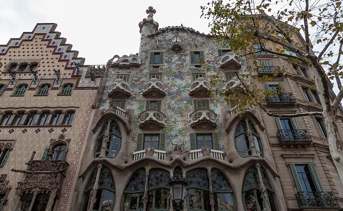 Eixample: Passeig de Gràcia - Mansana de la Discòrdia mit Casa Batlló Barcelona