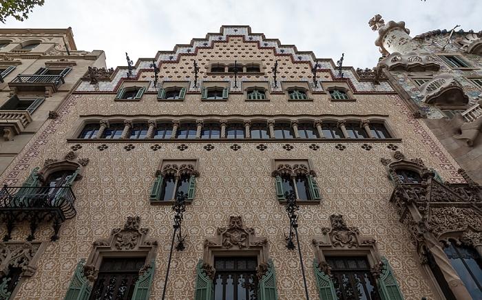 Eixample: Passeig de Gràcia - Mansana de la Discòrdia mit Casa Amatller Barcelona
