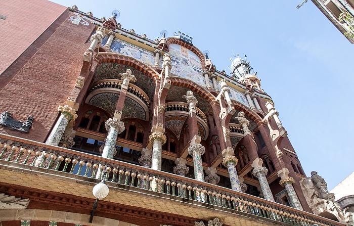 Ciutat Vella: Sant Pere, Santa Caterina i la Ribera - Palau de la Música Catalana Barcelona