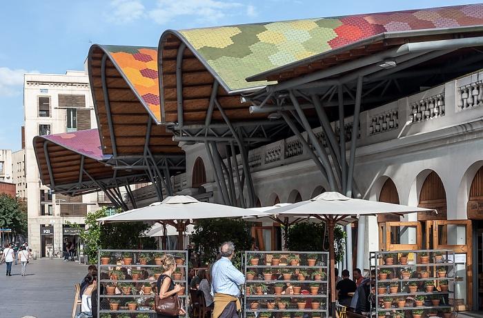 Ciutat Vella: Sant Pere, Santa Caterina i la Ribera - Mercado de Santa Caterina Barcelona
