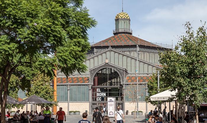 Ciutat Vella: Sant Pere, Santa Caterina i la Ribera - Mercat del Born Barcelona