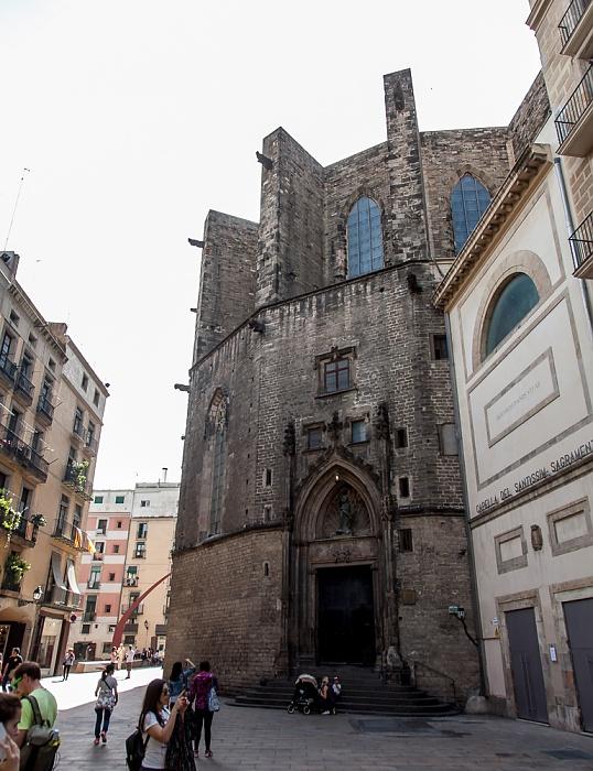 Ciutat Vella: Sant Pere, Santa Caterina i la Ribera - Santa Maria del Mar Barcelona 2015