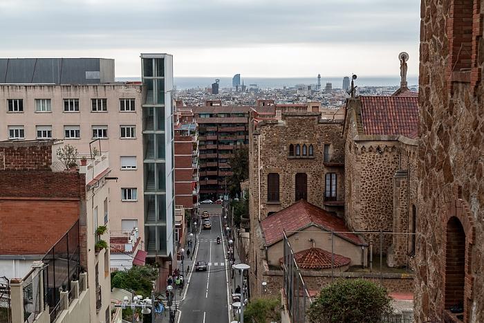 Blick vom Parc Güell Barcelona