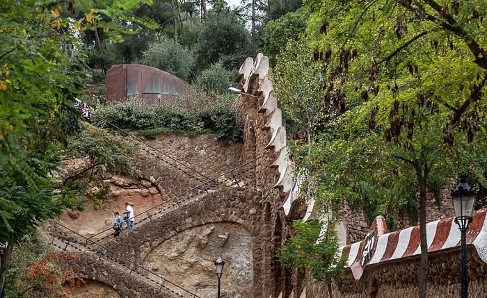 Treppe zum Parc Güell Barcelona