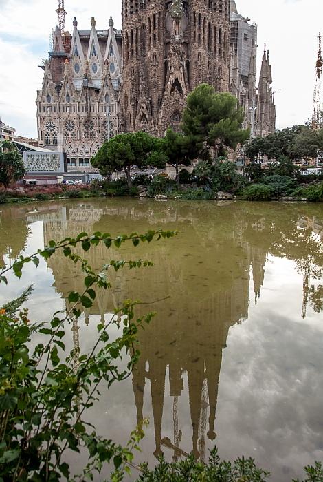 Plaça de Gaudí, Sagrada Família Barcelona