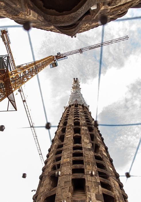 Sagrada Família: Türme der Geburtsfassade Barcelona 2015