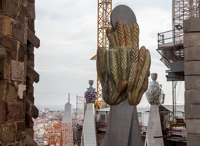Sagrada Família: Geburtsfassade Barcelona