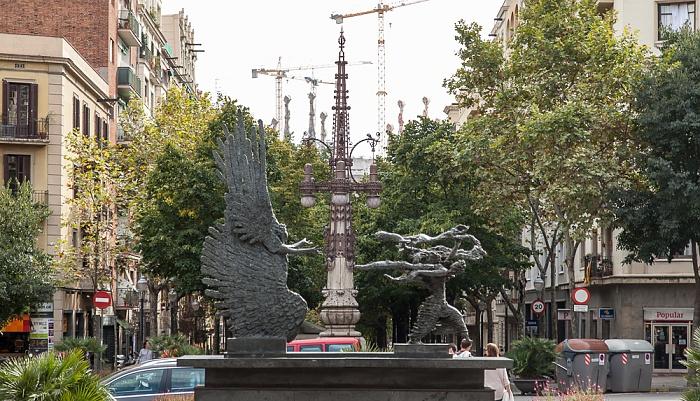 Avenida de Gaudí Barcelona