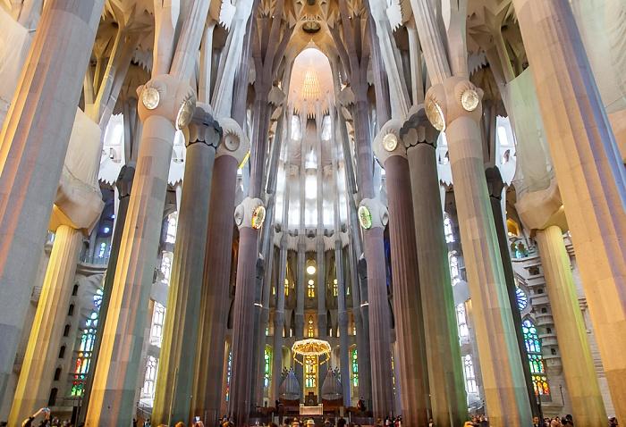 Sagrada Família Barcelona 2015