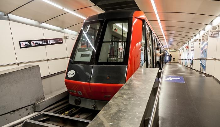 Telefèric de Montjuic: Estación Parque de Montjuic Barcelona