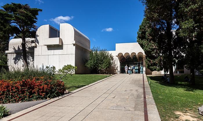 Parc de Montjuïc: Fundació Joan Miró Barcelona