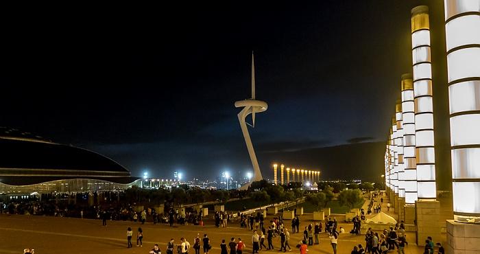 Parc de Montjuïc: Anella Olímpica de Montjuïc - Torre de Comunicacions de Montjuïc Barcelona