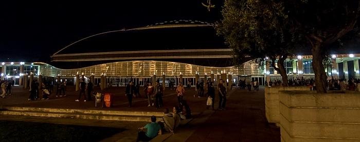 Parc de Montjuïc: Anella Olímpica de Montjuïc - Palau Sant Jordi Barcelona