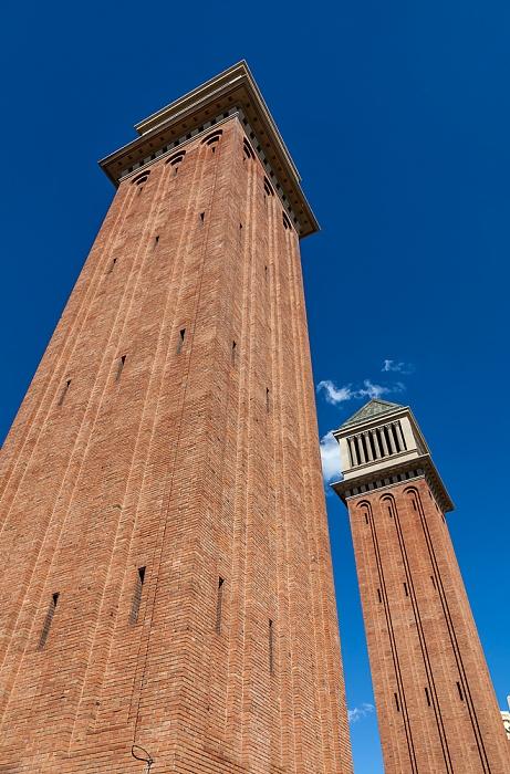 Fira de Barcelona: Torres Venecianes