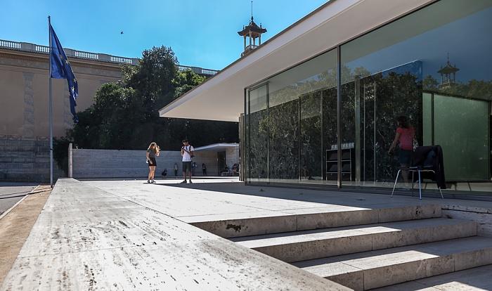 Fira de Barcelona: Barcelona-Pavillon (Pavelló alemany, Pavelló Mies van der Rohe)