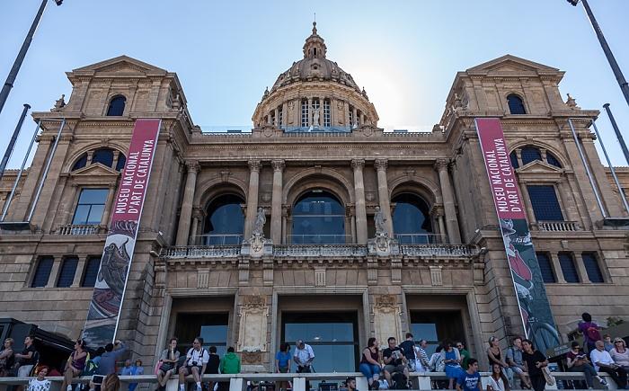 Barcelona Parc de Montjuïc: Palau Nacional (Museu Nacional d'Art de Catalunya)