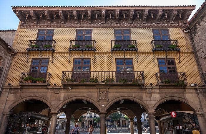 Poble Espanyol: Plaça Major Barcelona