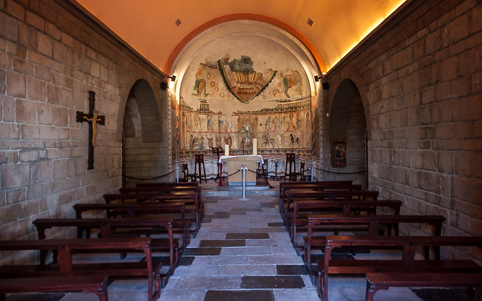 Poble Espanyol: Monasterio de Sant Miquel Barcelona