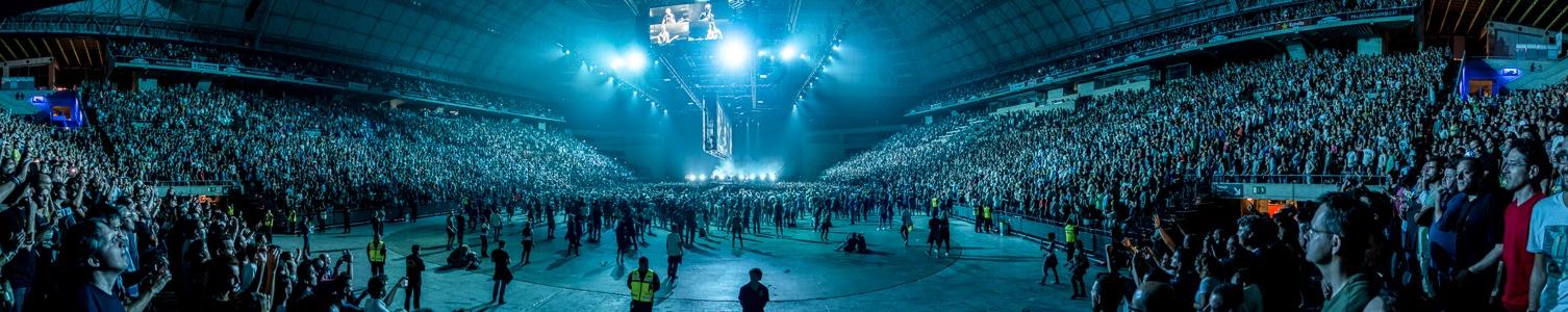Palau Sant Jordi: Während des U2-Konzerts Barcelona