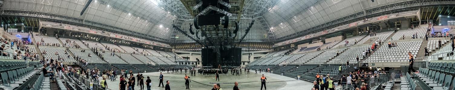Palau Sant Jordi: Nach dem U2-Konzert Barcelona