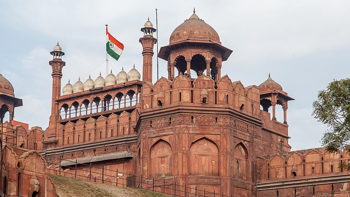 Old Delhi: Red Fort - Lahori Gate