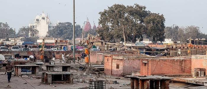 Old Delhi: Dächer des Meena Bazaar