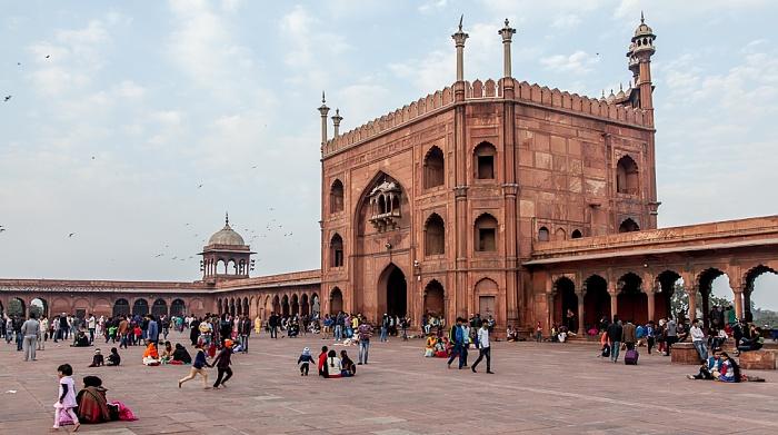 Old Delhi: Jama Masjid