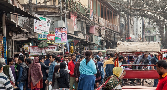 Old Delhi: Urdu Bazar Road