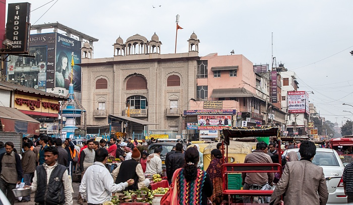Old Delhi: Chandni Chowk Road