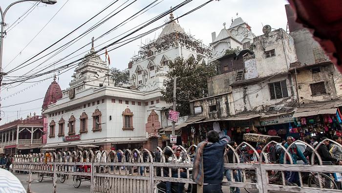 Old Delhi: Chandni Chowk Road - Gauri Shankar Mandir