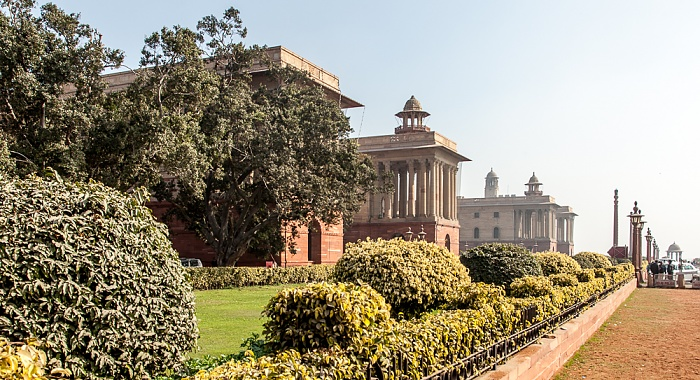 New Delhi: Rajpath - Secretariat Building (North Block)