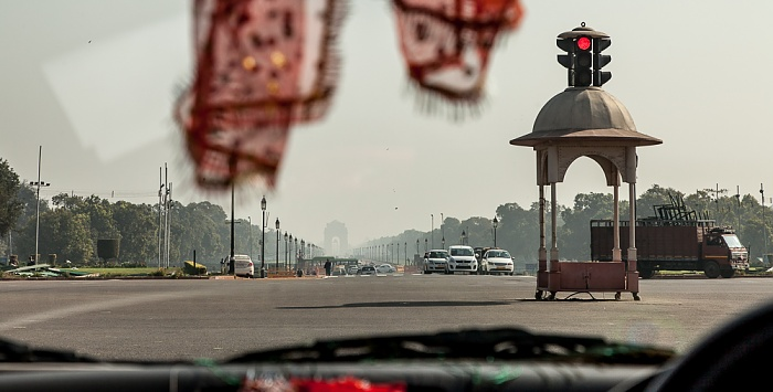 New Delhi: Rajpath - Vijay Chowk (Victory Square) India Gate