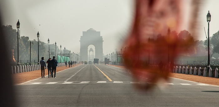 New Delhi: Rajpath, India Gate, The Canopy