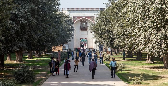 New Delhi: Isa-Khan-Mausoleumskomplex - Bu Halima Gateway