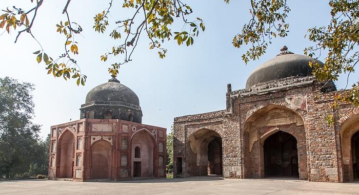 New Delhi: Isa-Khan-Mausoleumskomplex - Afsarwala Masjid (Mausoleum und Moschee)
