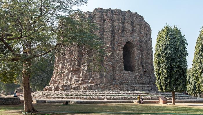 New Delhi: Qutb-Komplex - Alai Minar