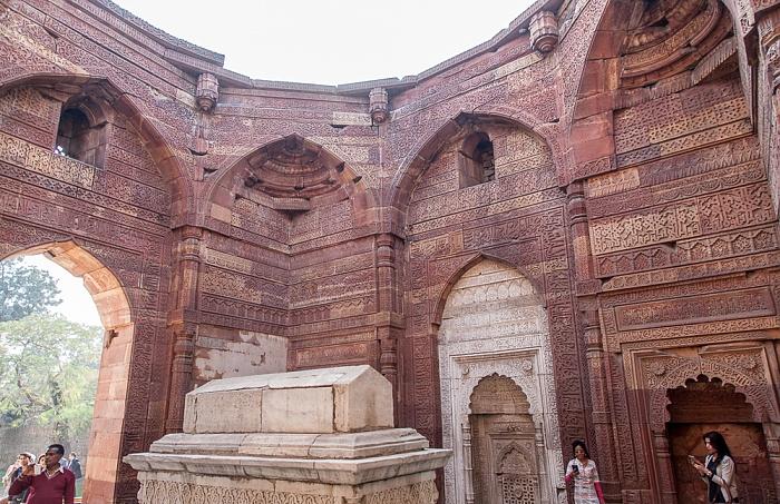 New Delhi: Qutb-Komplex - Iltutmish-Mausoleum