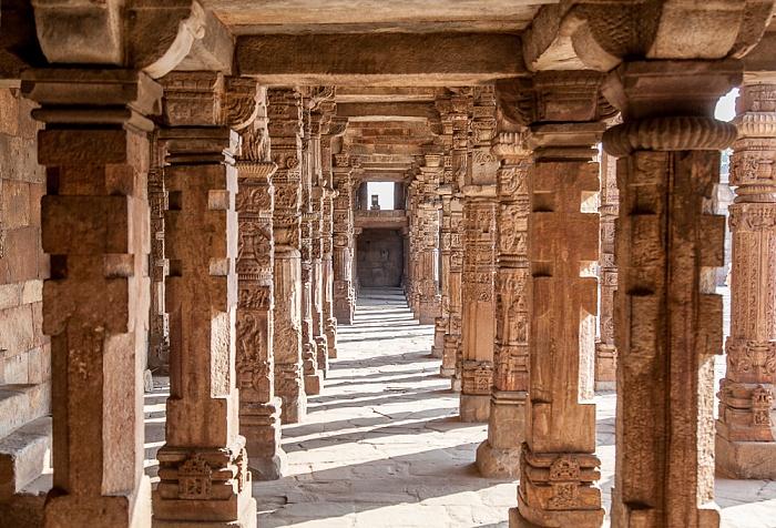 New Delhi: Qutb-Komplex - Quwwat-ul-Islam-Moschee