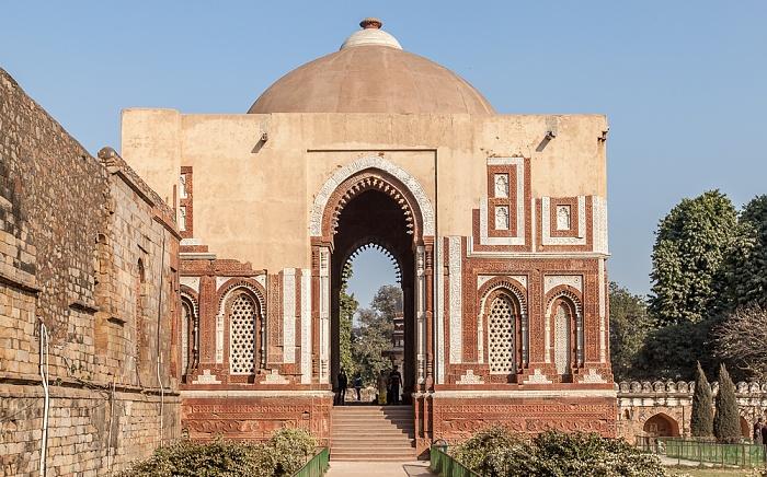 New Delhi: Qutb-Komplex - Quwwat-ul-Islam-Moschee: Alai Darwaza