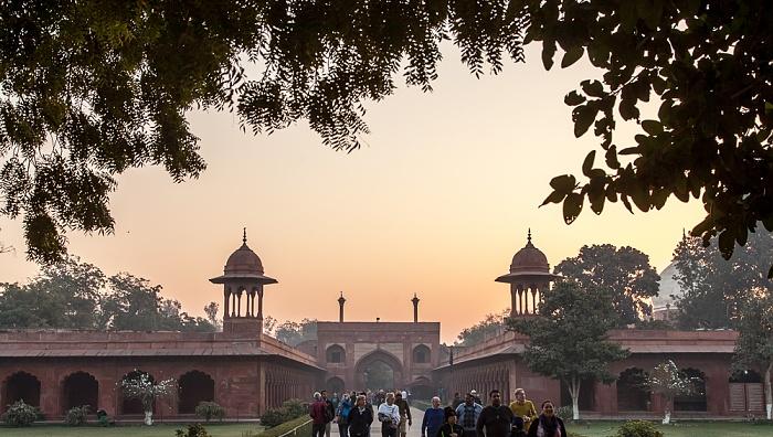 Agra Taj Mahal: Osteingang