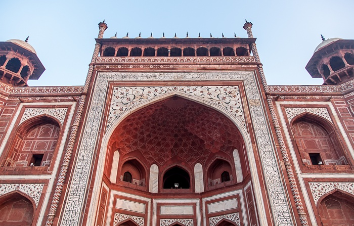 Agra Taj Mahal: Haupteingangsgebäude