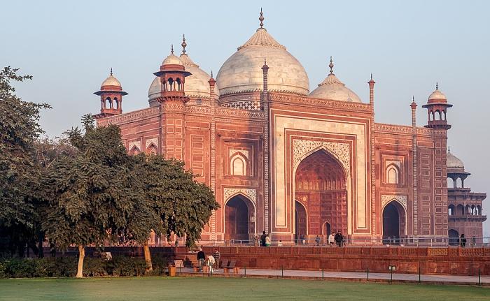 Agra Taj Mahal: Moschee (Masjid)