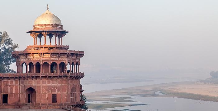 Agra Taj Mahal Agra Fort Yamuna
