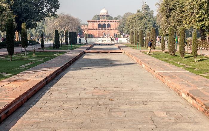 Agra Taj Mahal: Gartenanlage