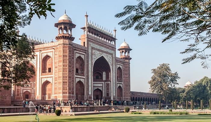 Agra Taj Mahal: Haupteingangstor
