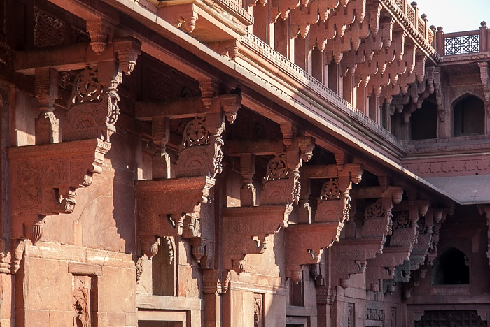Agra Fort (Rotes Fort)