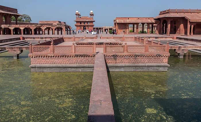 Fatehpur Sikri Königspalast: Anup Talao